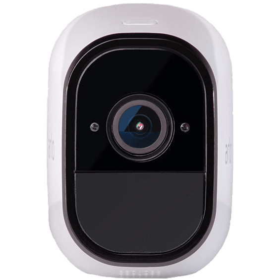 Front view of Netgear Arlo Pro