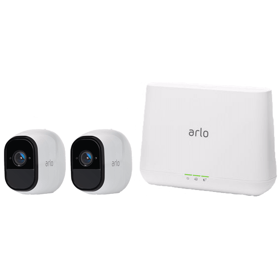 System view of Netgear Arlo Pro