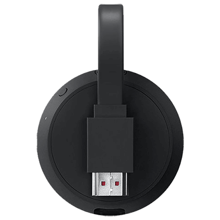Back view of the Google Chromecast Ultra