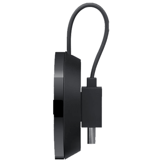 Side view of the Google Chromecast Ultra