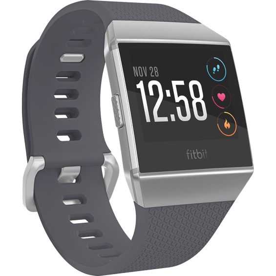 Front right angle view of Fitbit Ionic - Blue