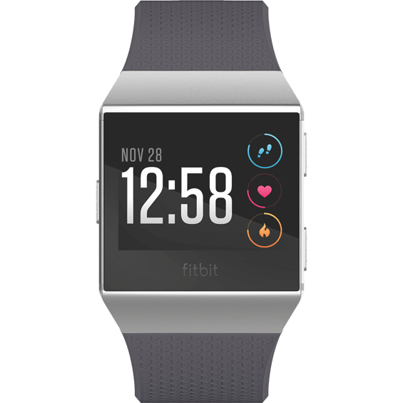 Front view of Fitbit Ionic - Blue