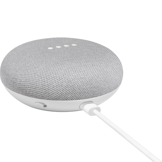 Photo of the Google Home Mini