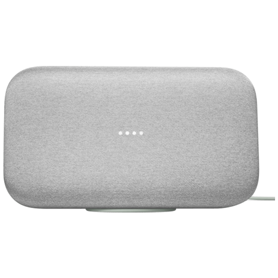 Vista frontal de Google Home Max - Tiza