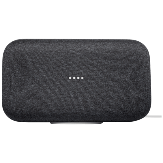 Front view of Google Home Max - Charcoal