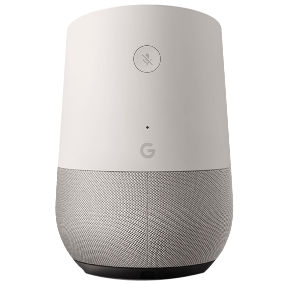 Google Home right angle view
