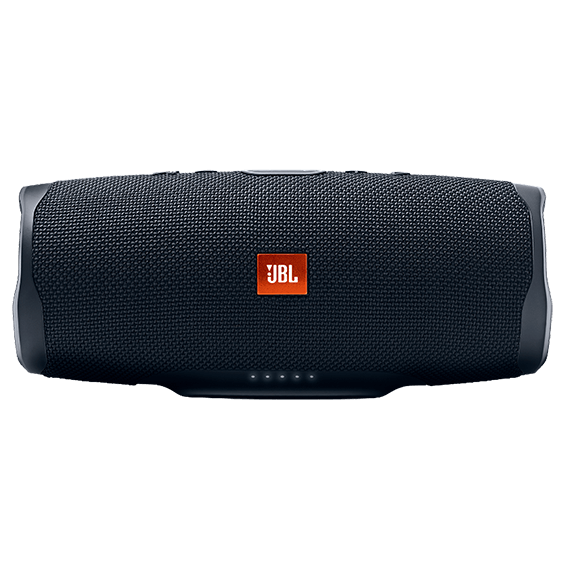 Black JBL Charge 4 product image - front view