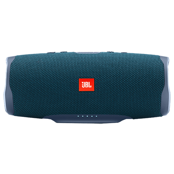 Blue JBL Charge 4 product image - front view