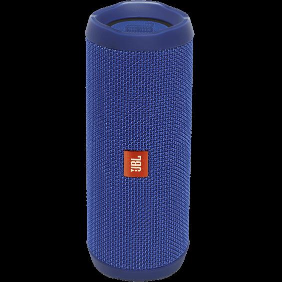 Altavoz JBL Flip 4 azul - Vista frontal