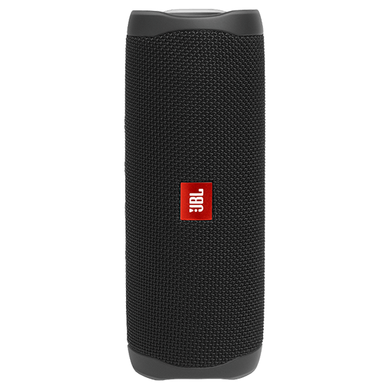 Black JBL Flip 5 product image - front view