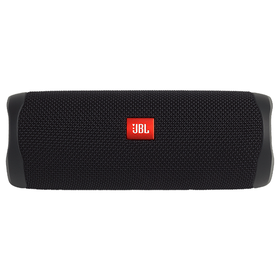 Black JBL Flip 5 product image - front horizontal view
