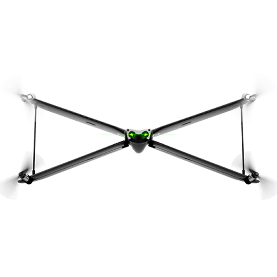 Front view of Parrot Swing MiniDrone