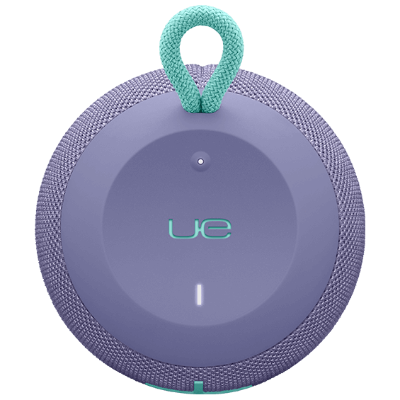 Top view image of the UE Wonderboom in lilac