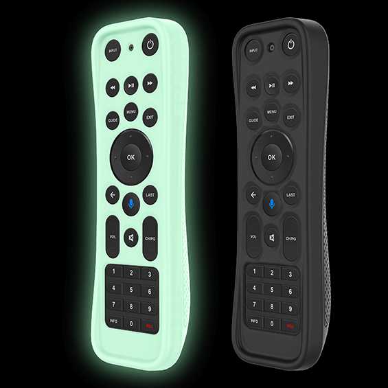 Protective Silicone Cover for Fios TV One Remote product image - shown with a dark background