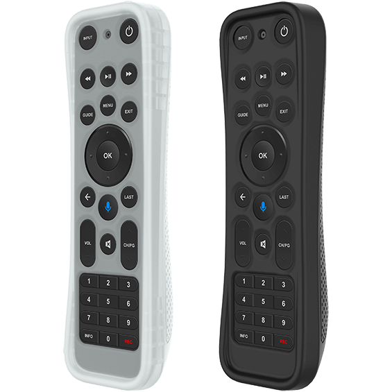 Protective Silicone Cover for Fios TV One Remote product image - shown with a light background