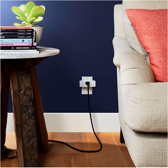 View of Belkin Wemo Mini Smart Plug in use