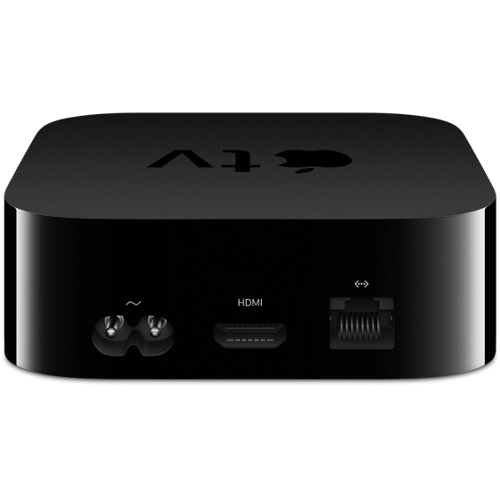Front view of Apple TV 4K 32GB device