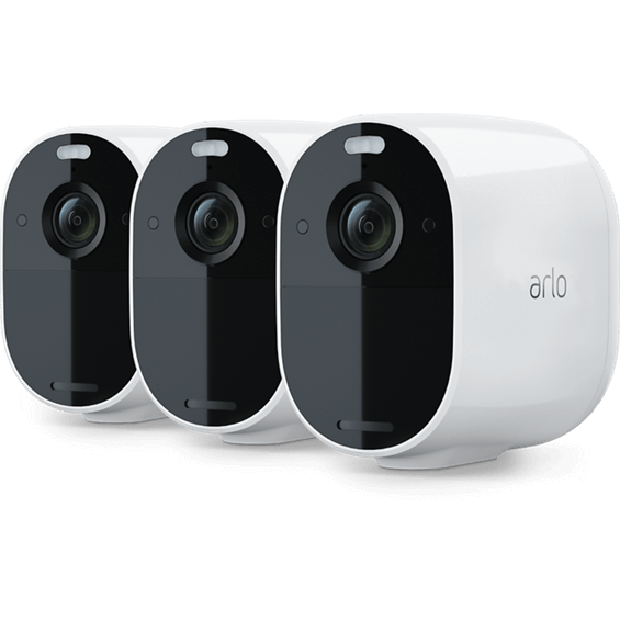 Product photo of Arlo Essential Spotlight Camera 3 Pack