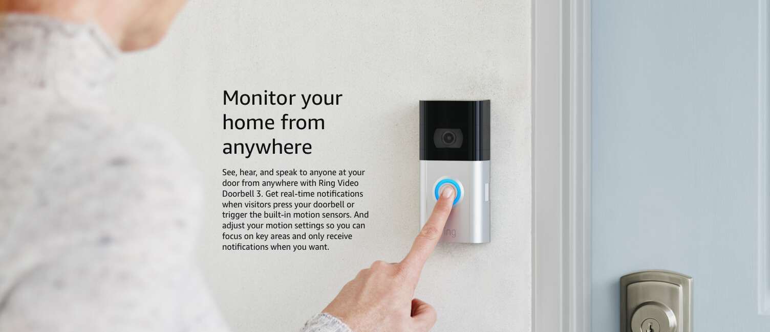 Monitor your home from far away
