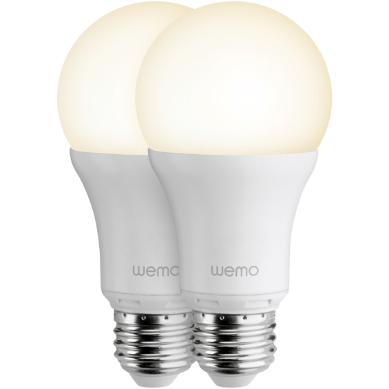 Front view of Belkin WeMo LED Lighting Starter Set