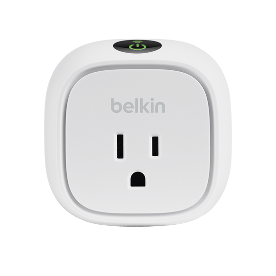 Front view of Belkin Insight Switch