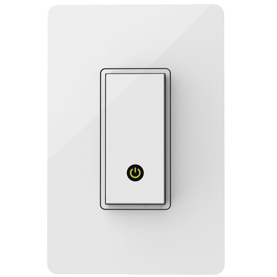 Front view of Belkin Light Switch
