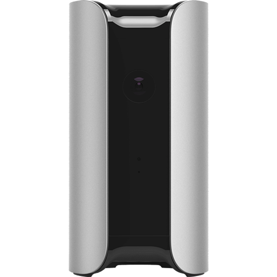 Front view of Silver Canary Home Security