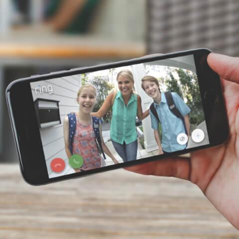 Imagen de familia en la aplicaciónRing