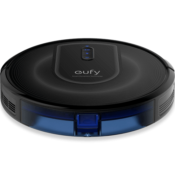 Top angle view of Eufy RoboVac G30 Verge