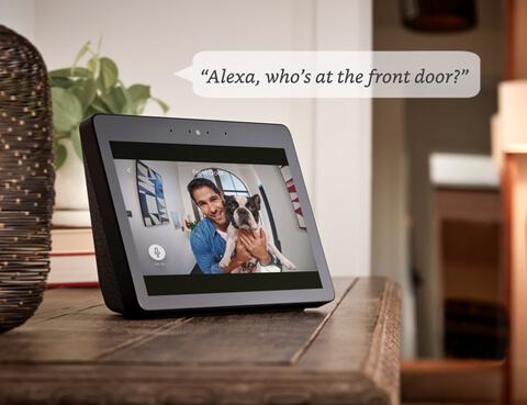 Foto de un dispositivo Alexa