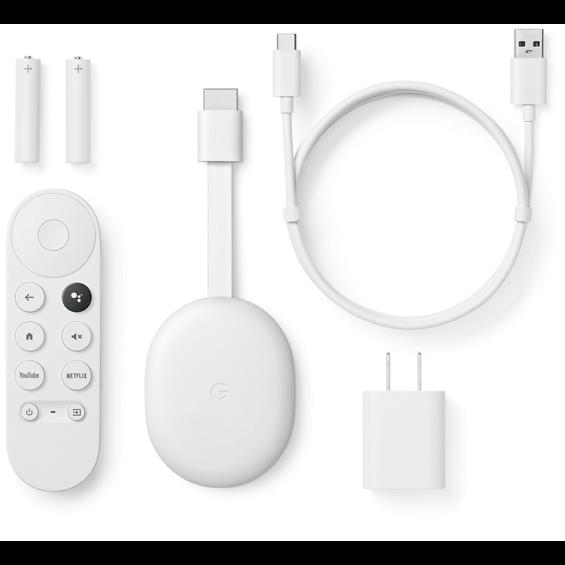 View of Google Chromecast components