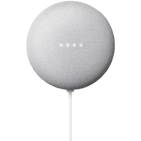 Chalk Google Nest Mini product image front view