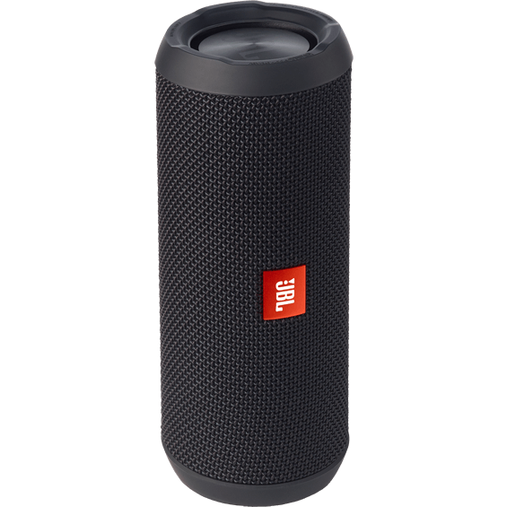 Front view of Black JBL Flip 3 Speaker
