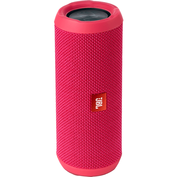 Front view of Pink JBL Flip 3 Speaker
