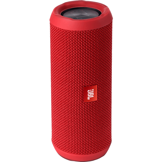 Front view of Red JBL Flip 3 Speaker