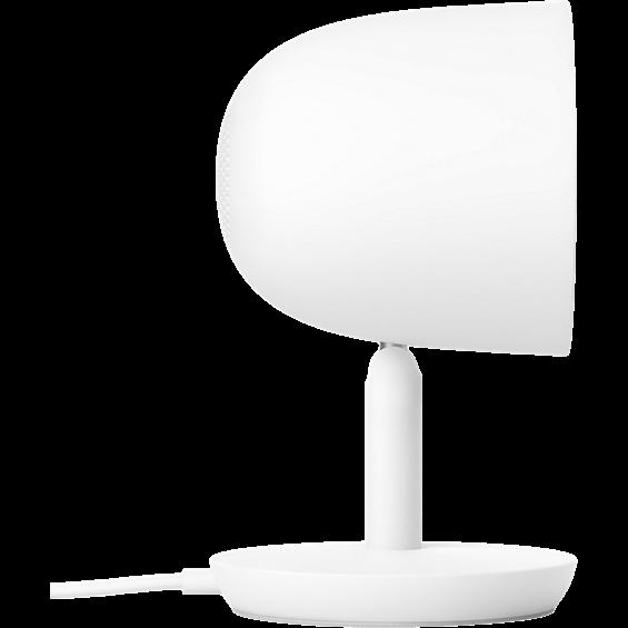 Vista lateral de la Nest Cam IQ Indoor