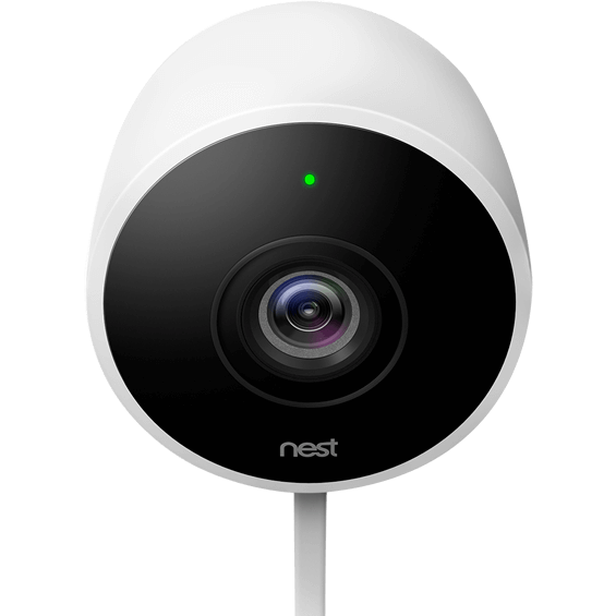 Front view of Nest Cam Outdoor Security Camera