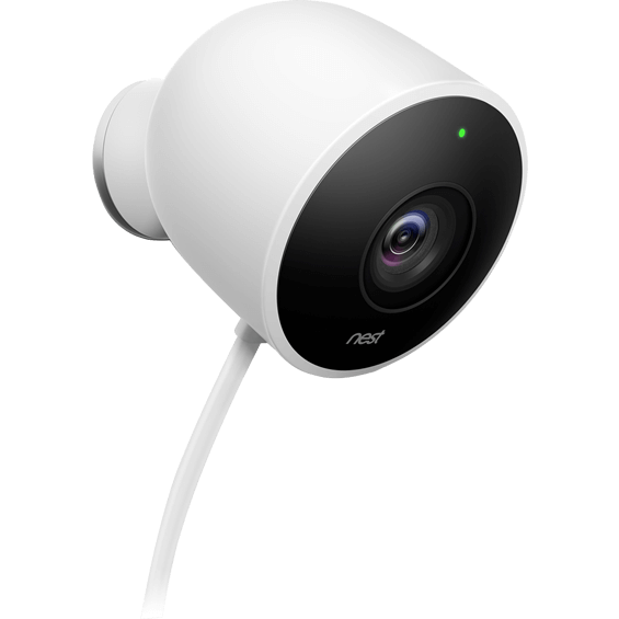 Right view of Nest Cam Outdoor Security Camera