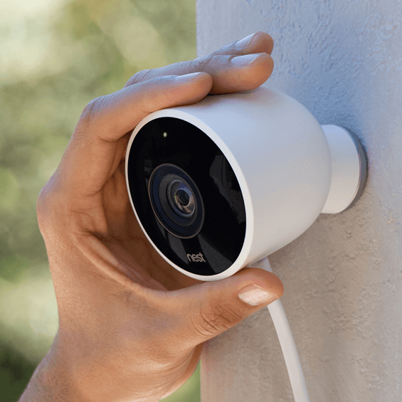 Outside view of Nest Cam Outdoor Security Camera