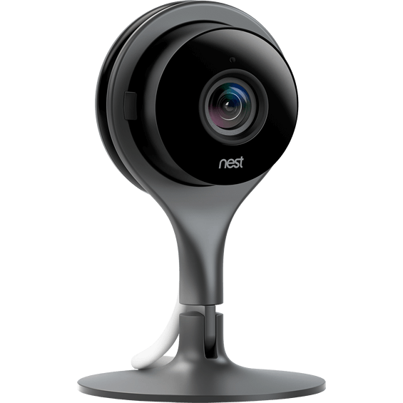 Angle view of Nest Cam Wi-Fi video camera