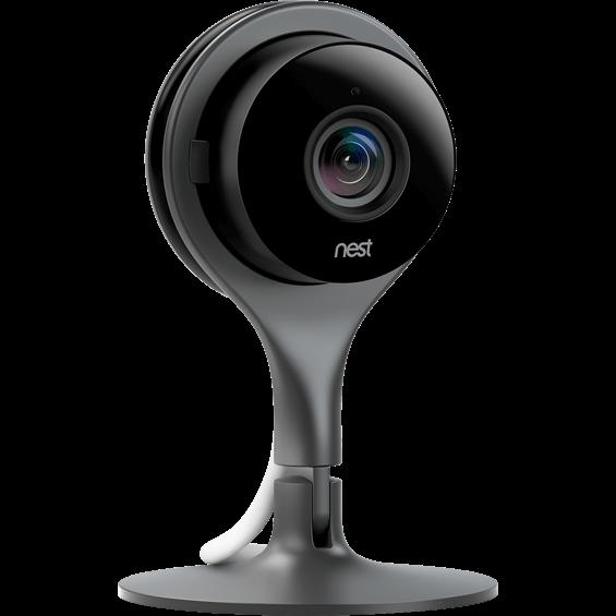 Videocámara con Wi-Fi Nest Cam - Vista en ángulo