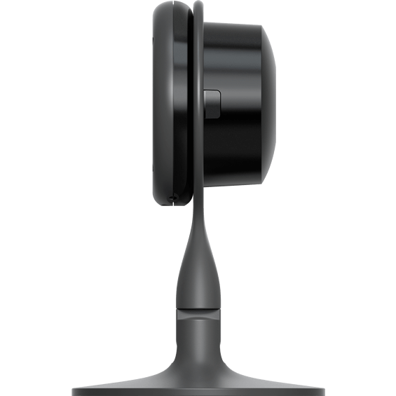 Side view of Nest Cam Wi-Fi video camera