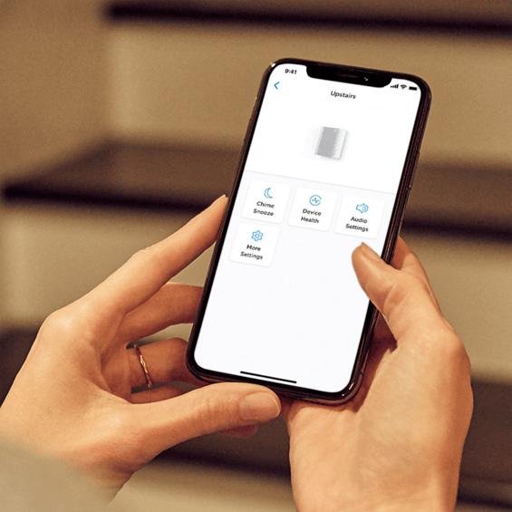 Acceder atimbre Ring a través de la aplicación