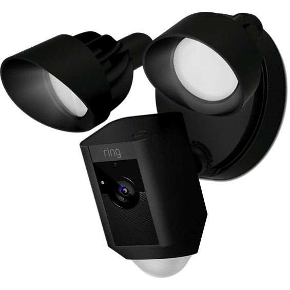 Black Ring Floodlight Cam