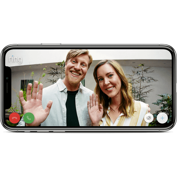 Accessing Ring Peephole Cam via the app