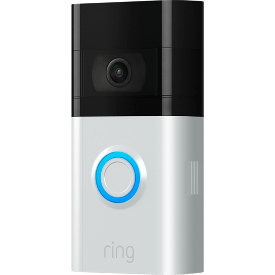 Front angle view of Ring Video Doorbell 3