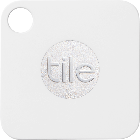 Front view of the Tile Mate Bluetooth Tracker